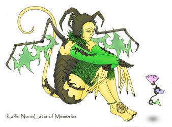 Kailin Nore: Eater of Memories by pun