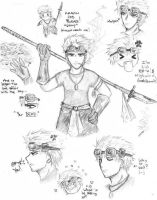 The Many Faces of Cid Highwind by Jasmine-Reinier