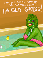 Old Gregg The Mighty Boosh by thehaydenclone
