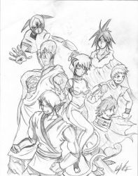 The gang is all here by Jotaro-star
