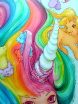 My Little Pony - WIP by camilladerrico