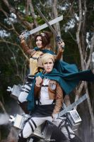 Attack on Titan - Wings of Freedom by vaxzone