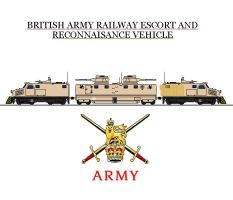 British Army Rail Protection Unit by Leadmill