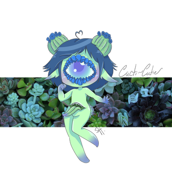 Cacti-cutie by strange-perfection