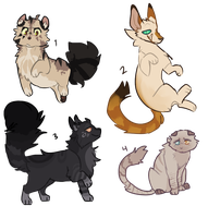 quick cat adopts (closed) by wildflowerxs