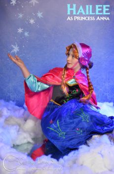 Frozen Cosplay - Anna by Jbressi