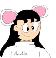 Annette by OffClaireBlue2001