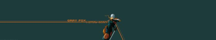 Gray Fox - Metal Gear by LeandroJVarini
