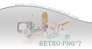 Retro png pack #04 by yynx151
