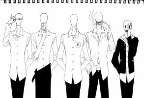 SLENDER BROTHERS by Autumn123Charlotte