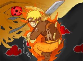Naruto vs Sharingan by Gevurah