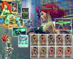 SSF4AE Rose: Poison Ivy costume by sloth85