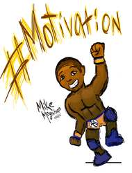 ACH - Pro Wrestler #Motivation! by null-ghoul