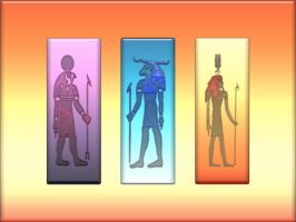 egyptian gods 2 by butchen