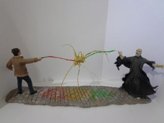 Harry Vs Voldemort - 1 by armoredringo115