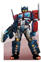 G2 Optimus Colored by MachSabre