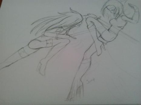 A Quick Sketch by ExtremistMerlinFan