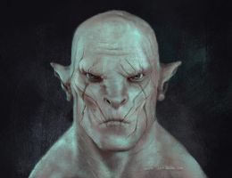 Azog by Septembrenell
