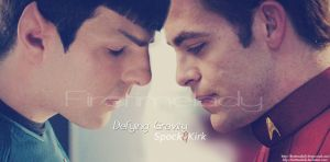 Defying Graviti - Spirk by FirstTimeLady