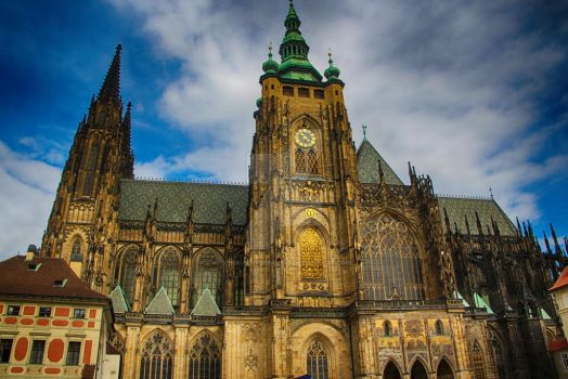 St Vitus Cathedral Prague 02 by TheMalteseBandit