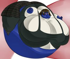 Makoto inflation Berry by MadEvilIndustries