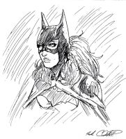 Batgirl in 8 min by Mark-Clark-II