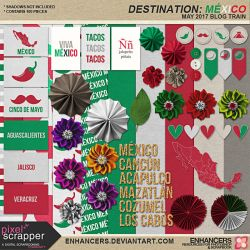 PSAPR17 ENHANCERS MEXICO JC - WB - STICKERS by enhancers