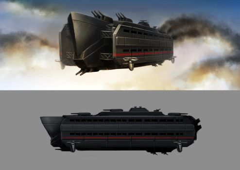 Imperial Authority Battleship by Lionel23