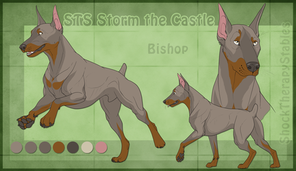 STS Dog - Bishop by ShockTherapyStables