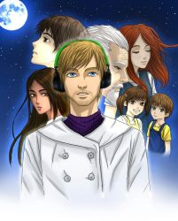 To the moon: PewDiePie by hyoukyo