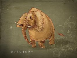 elephant by sedatgirgin