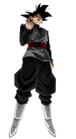 Black Goku by Koku78