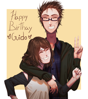 Happy Birthday Guido!! by Blooding424