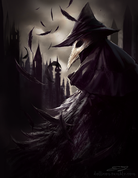 Eileen the crow by Dollicon