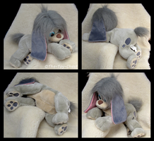 Anastasia - Pooka Floppy Plush by The-Toy-Chest