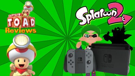 Captain Toad Reviews Splatoon 2 by BigMarioFan100
