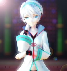 [MMD x Vocaloid] Chinese Vocaloid, Yan He by AuliaDex