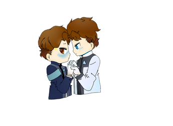 Rk800 X Rk900 by Cristalthecat7413