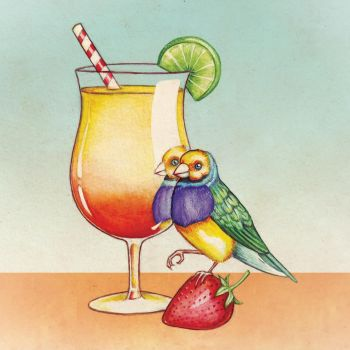 Summer Cocktail by puppeteer-for-kings