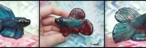 :.Cute Betta figurines.: by XPantherArtX