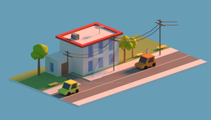 LowPoly Street by Ppoint555