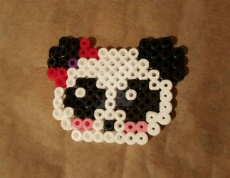 Girl Panda Pin by Colorful-Kaiya