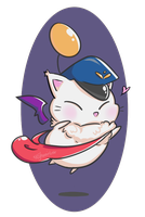 Delivery Moogle by LunaAlumna