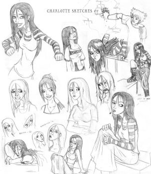 Charlotte Sketches 02 by Aphius