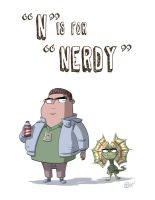 N Is For Nerdy by OtisFrampton