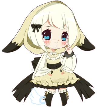SMALL CHIB: xdeathxbyxlovex by cutesu