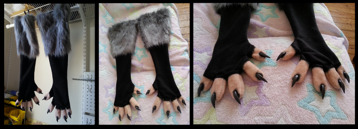 Anwen Opossum Paws by CuriousCreatures