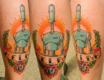 Traditional H.E.L.P.eR. Tattoo by Sirius-Tattoo