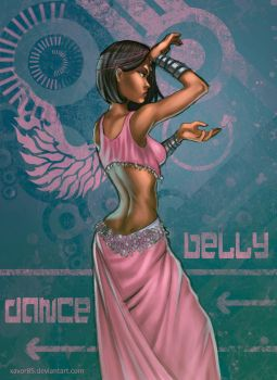 Belly Dancer by xavor85