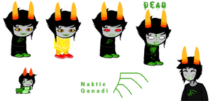 Fan troll OC Naktie Qanadi OUTDATED NEW INFO BELOW by ucccoffee